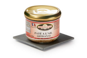 Garlic Pâté (with Guérande Salt) -180gr