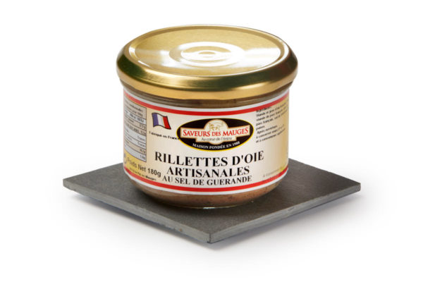 Goose Rillettes (with Guérande Salt) -180gr