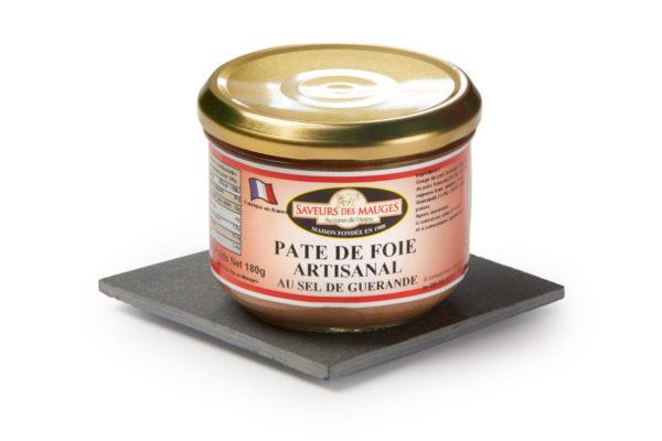 Liver Pâté (with Guérande Salt) -180gr