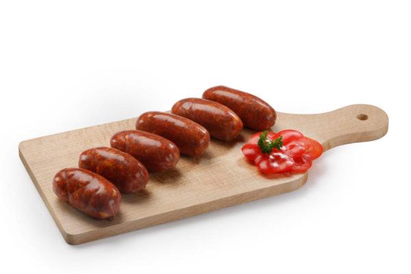 Artisan Chorizo BBQ Sausages x6 -330gr