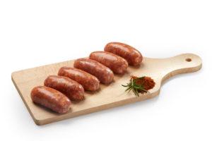 Artisan Espelette Pepper Sausages x6 -330gr