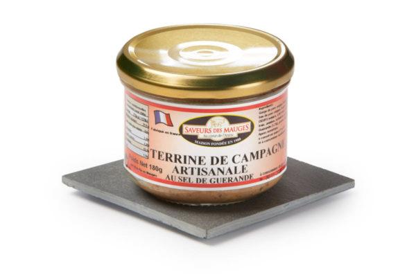 Country Style Paté (with Guérande Salt) -180gr