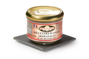 Traditional Rillettes d'Anjou (with Guérande Salt) -180gr